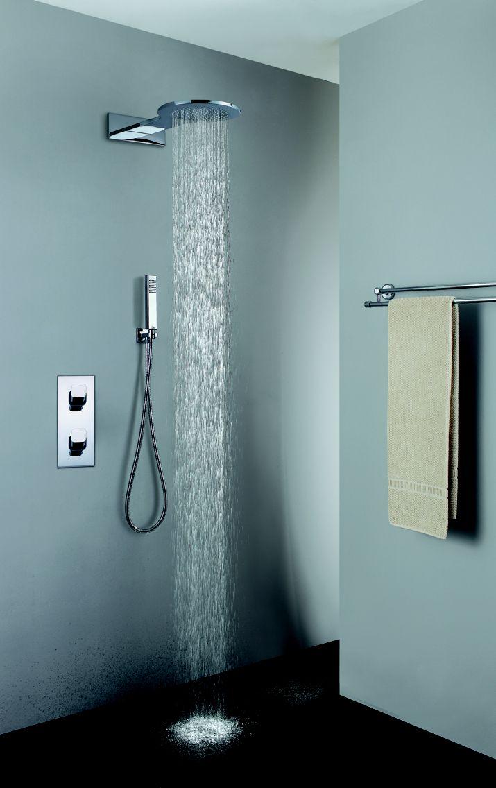 12 best brass or SS shower head images on Pinterest   Rain shower ...