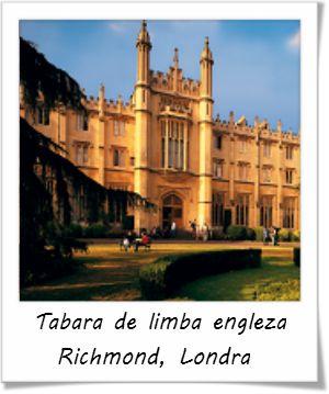 Tabara de Limba Engleza la Richmond American International University