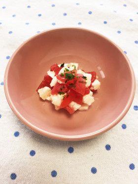 離乳食*トマトとチーズのカプレーゼ by ぴょんこな [クックパッド ...