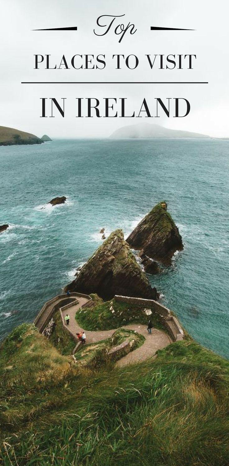Los mejores lugares para visitar en Irlanda