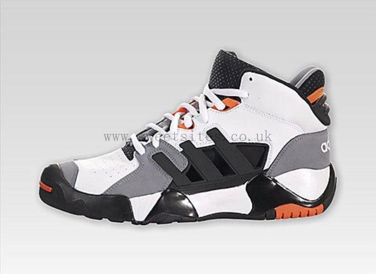 1677a-s Temperament Adidas Streetball 2 Retro Basketball Shoes Run White Black Superb | 100% High Quality,entire collection - $87.84