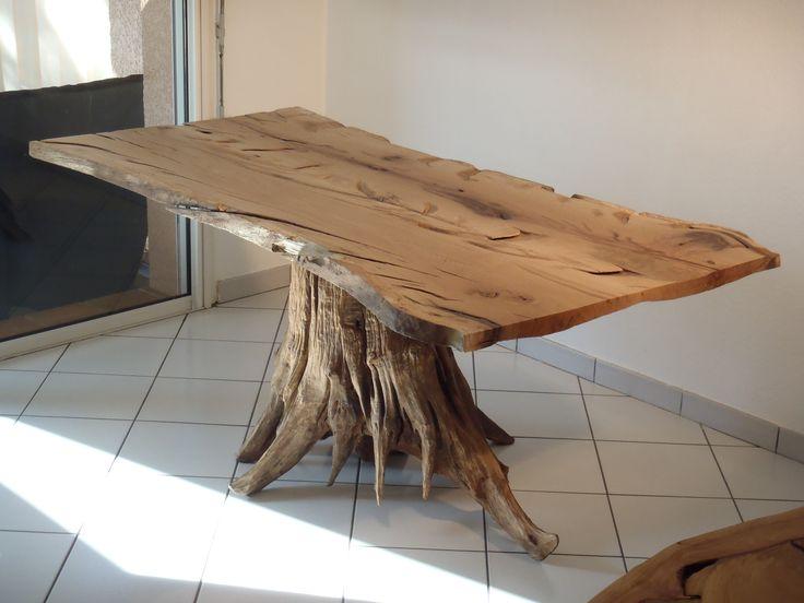 table manger souche racine d 39 arbre deco pinterest. Black Bedroom Furniture Sets. Home Design Ideas