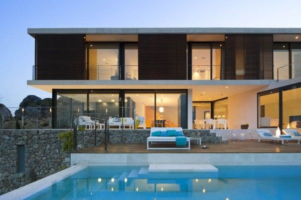 Swimming Pool Design from Smart Home Architecture and Amazing View Every Room Decoration 600x399 Smart Home Architecture and Amazing View Every Room Decoration