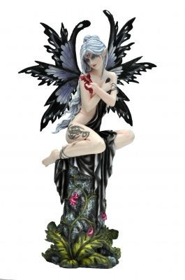 Fairy statues for sale smoky large fairy figurine by nemesis now nem3181 sirius - Fairy statues for sale ...