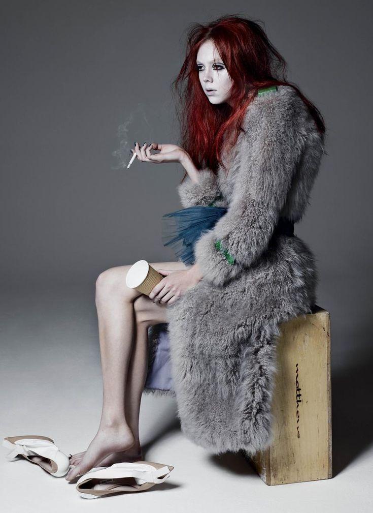 Natalie Westling by Sølve Sundsbø for V Magazine Spring 2015