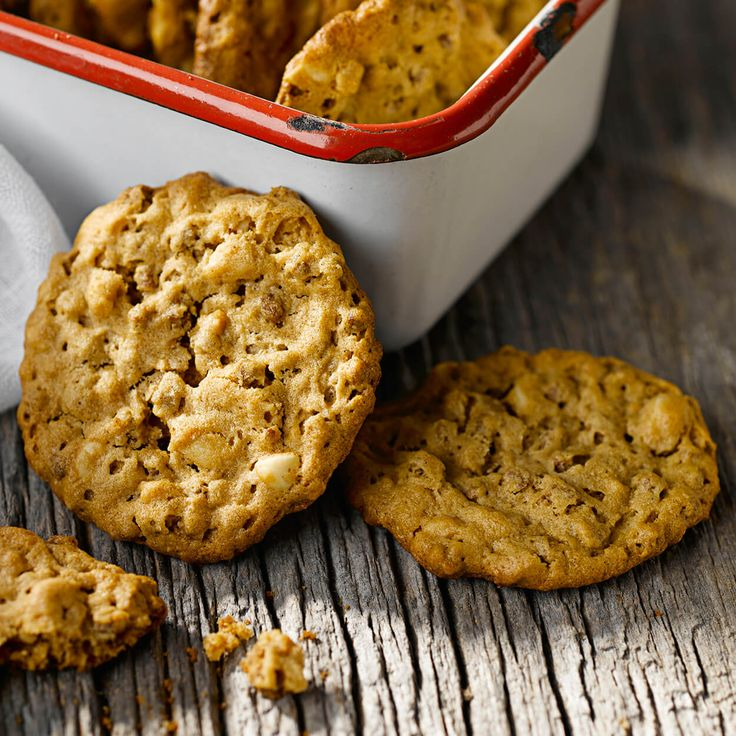 Peanut Butter Crunch Cookies made with Bran Buds cereal