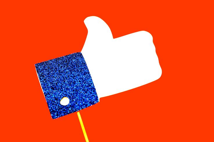 """Photo Booth Props - Facebook """"Like"""" Hand - Thumbs Up - GLITTER Photobooth Prop - Great for weddings, birthdays, parties. $8.00, via Etsy."""
