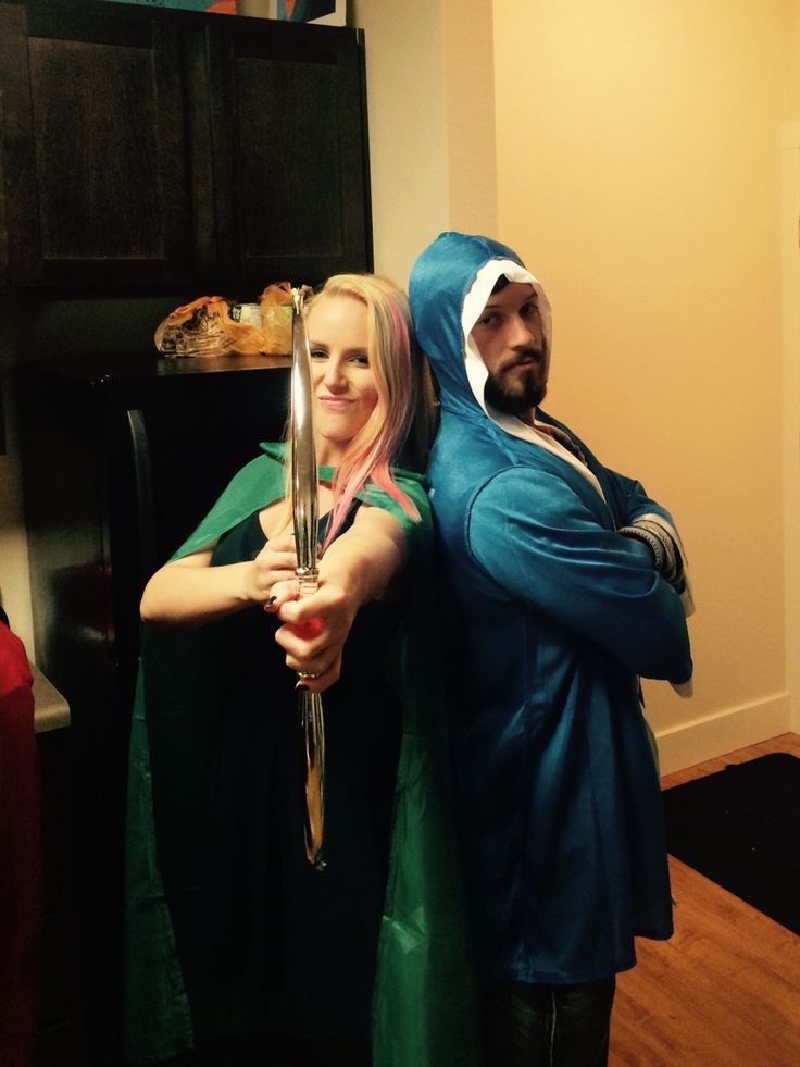 Clash of clans couples costume--hilarious! So easy to do. We got so many compliments!