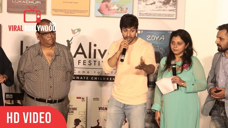 #VarunDhawan Speech At India Alive Short Film Festival