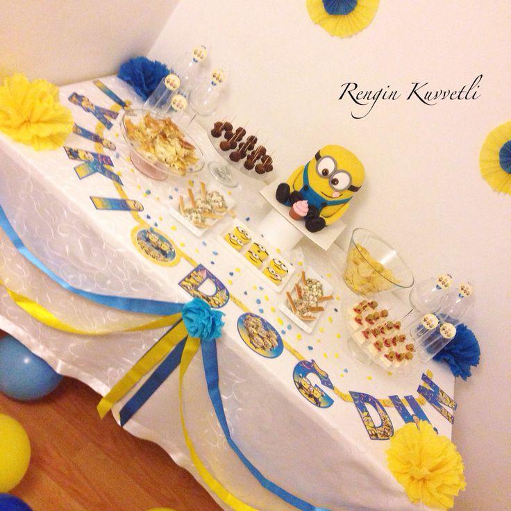 Minion Birthday Party / Minion Doğum günü Partisi
