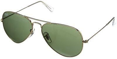 89c0de34ef5fe ITALY NEW Ray-Ban 3025 Aviator Large Metal Non-Mirrored Non-Polarized  Sunglasses