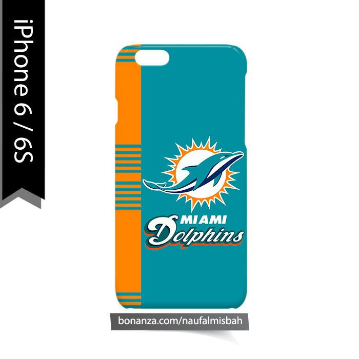 Miami Dolphins Line iPhone 6/6s Case Cover Wrap Around
