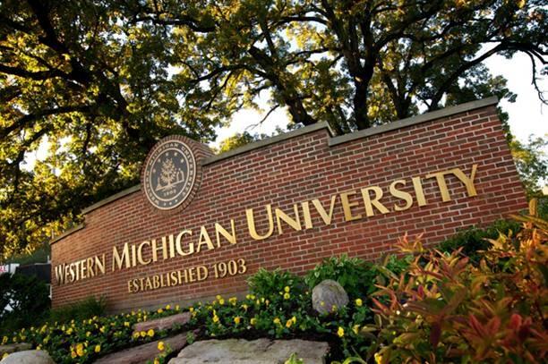 Western Michigan University Broncos - campus sign