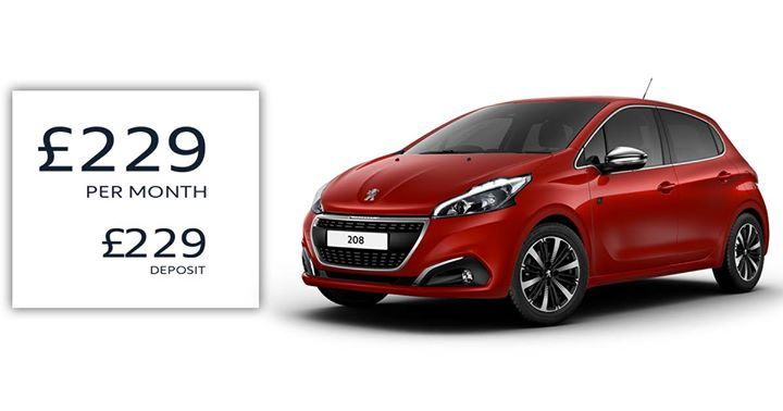 We Have Peugeot 208 Tech Edition Models In Stock Available For