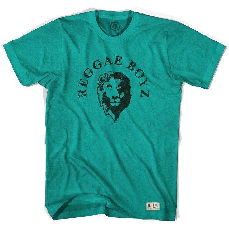 Jamaica Reggae Boyz Evergreen Soccer T-shirt