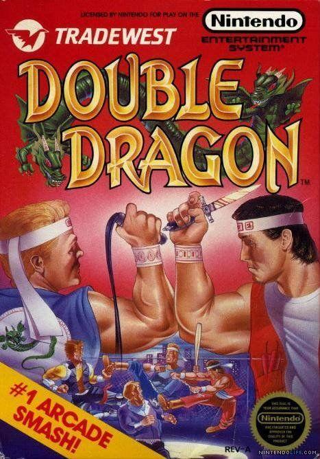 Double Dragon was the coolest game of my school years.  Back elbows everywhere. ki ya.  #arcadegame #foryouson #doubledragon
