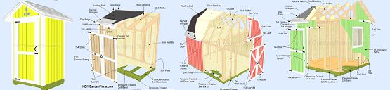 How to build a shed, free shed plans, build it yourself!