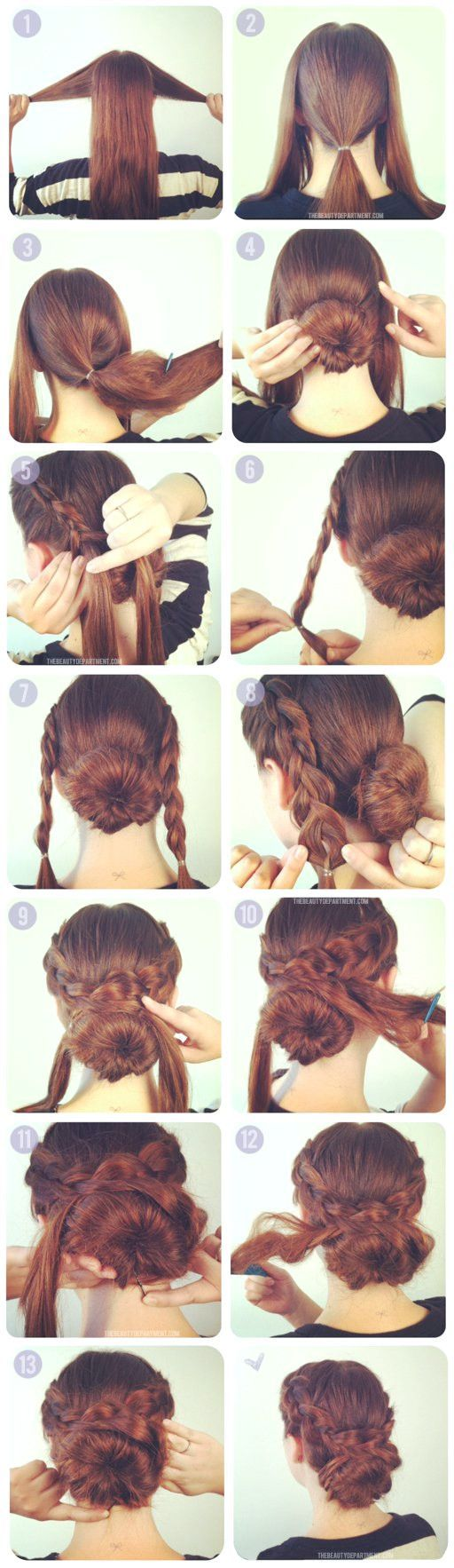 20 simple hairstyle tutorials for your everyday life, #Allday #easy #simple hairstyles horse …