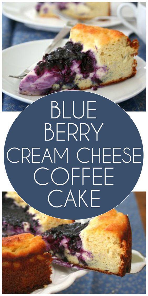 Blueberry Coffee Cake Recipes Cream Cheese