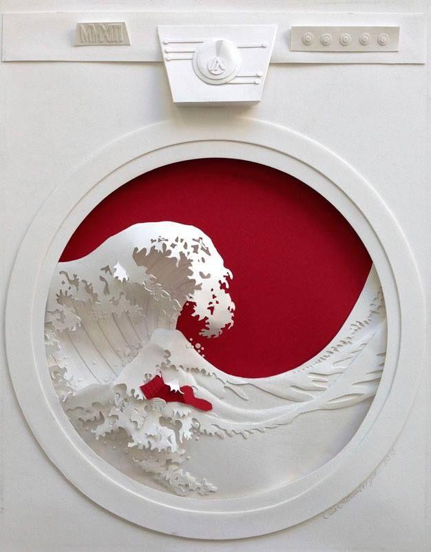 Jeff Nishinaka, combinando escultura y papel