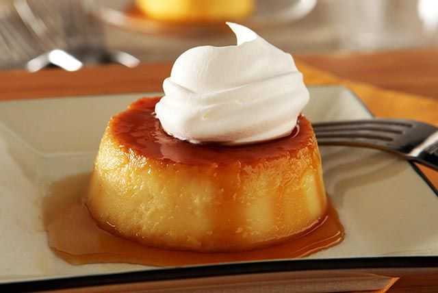 A rich and creamy flan is flavored with toasted coconut and just a hint of rum in this easy-to-make and elegant dessert.
