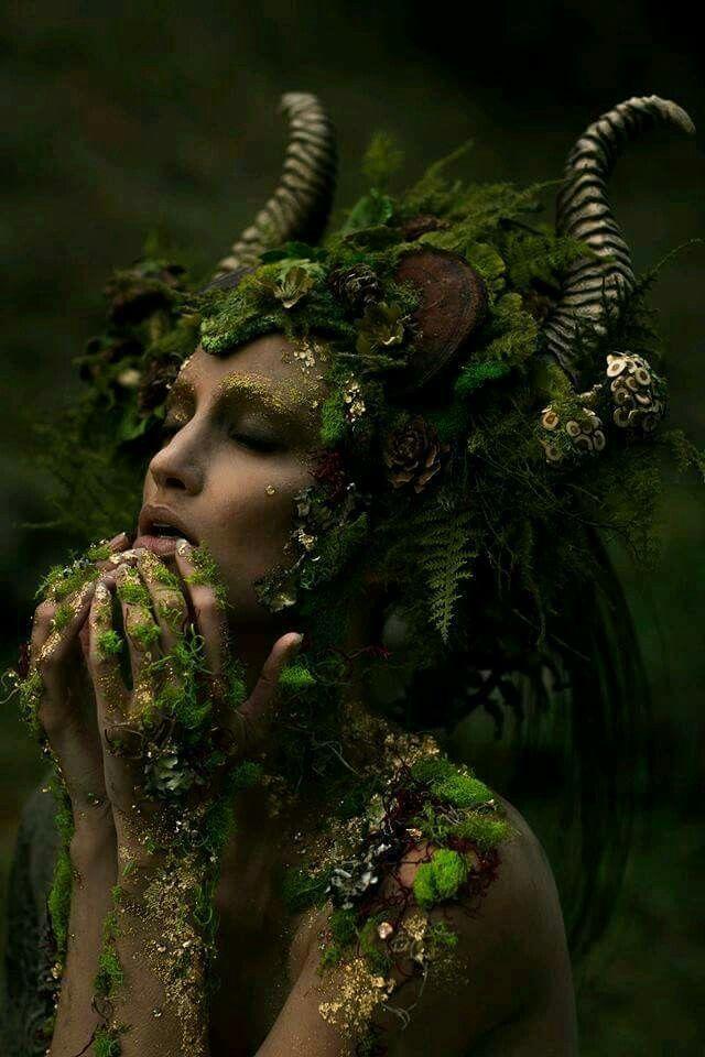 The Horned Godess