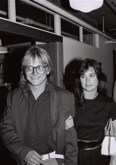 Demi Moore & first husband Freddy Moore, 1980s