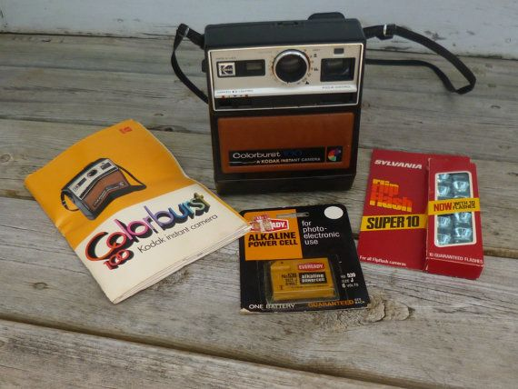 Vintage Kodak Colorburst 100 Instant Camera by CandysCreationsetc