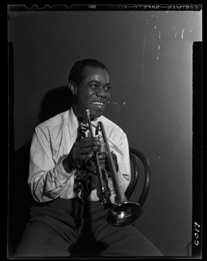 "Jazz trumpeter Louis ""Satchmo"" Armstrong was one of the most innovative and influential music artists of his generation."