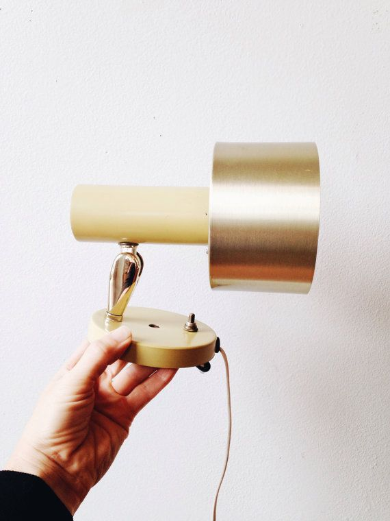 Vintage Mid Century Modern Spot Light sconce by ethanollie