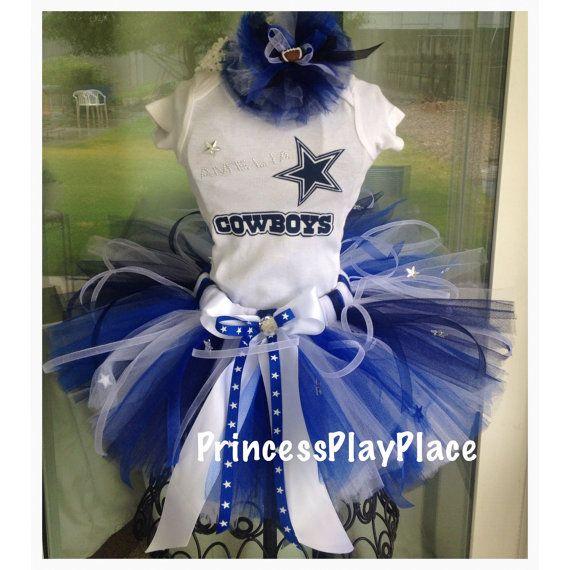Dallas Texas Cowboys inspired Cheerleader by PrincessPlayPlace