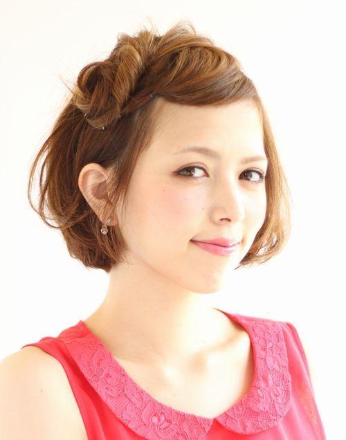 ボブのかわいい前髪アレンジ|下北沢 美容室 RITZ下北沢 presents ヘアカタログ ブログ