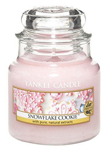 Yankee Candle Snowflake Cookie (Amazon)                                                                                                                                                                                 Plus