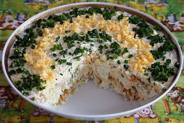 Schichtsalat mit Thunfisch nach japanischer Art, ein raffiniertes Rezept aus der Kategorie Eier & Käse. Bewertungen: 22. Durchschnitt: Ø 4,1.