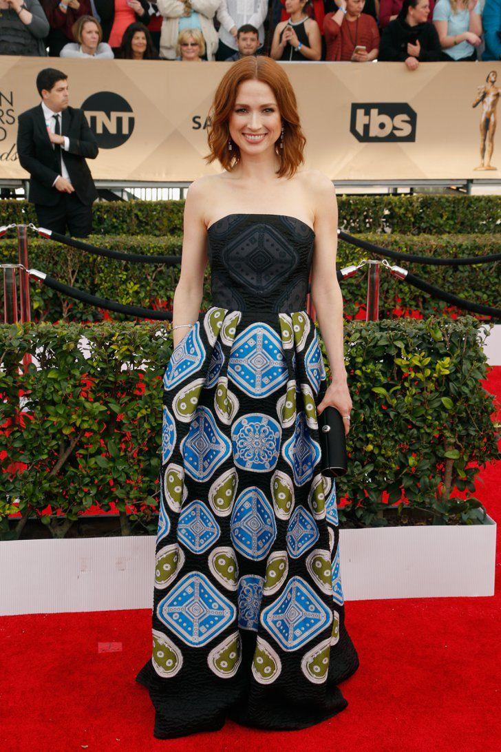 Pin for Later: Jetez un Oeil à Toutes les Superbes Tenues des SAG Awards Ellie Kemper Portant une robe signée Peter Pilotto.