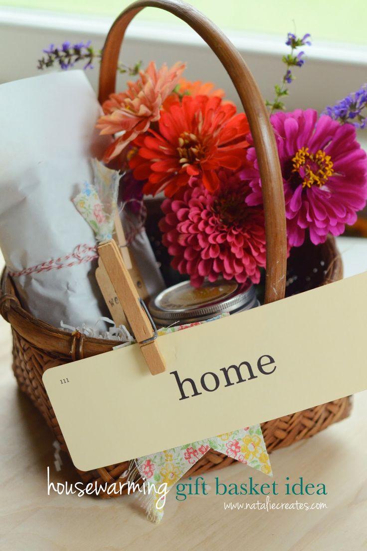 housewarming gift basket idea for under 10 gift basket. Black Bedroom Furniture Sets. Home Design Ideas