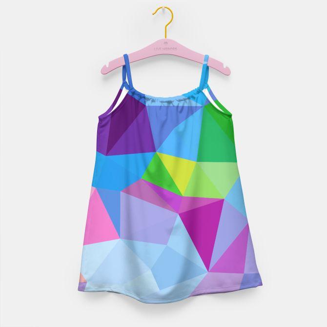 KIDS LUXURY Artistic geometric Dress