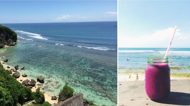 Bingin Beach, Bali. Featured in the book 'Lost Guides - Bali'