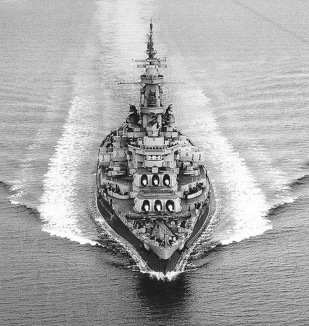 USS Alabama BB60 by FrigateRN