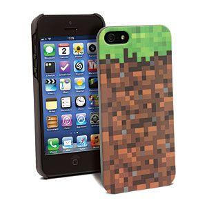 Minecraft Grassy Block Case