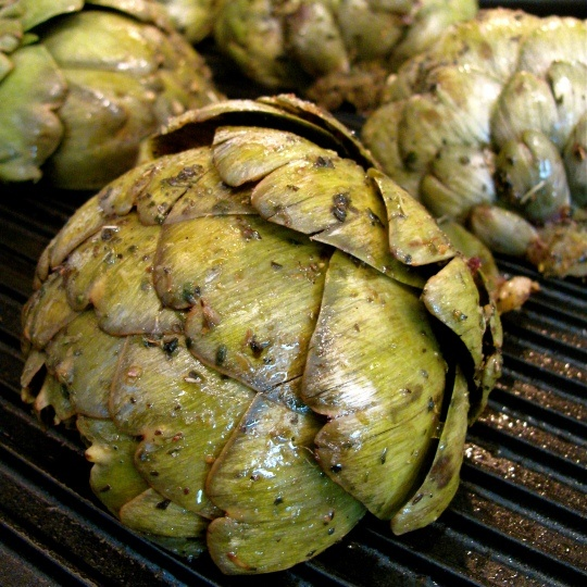 Grilled ArtichokeBalsamic Grilled, Grilled Artichoke For, Summer Yum, Yummy Recipies, Grilled Artichokes
