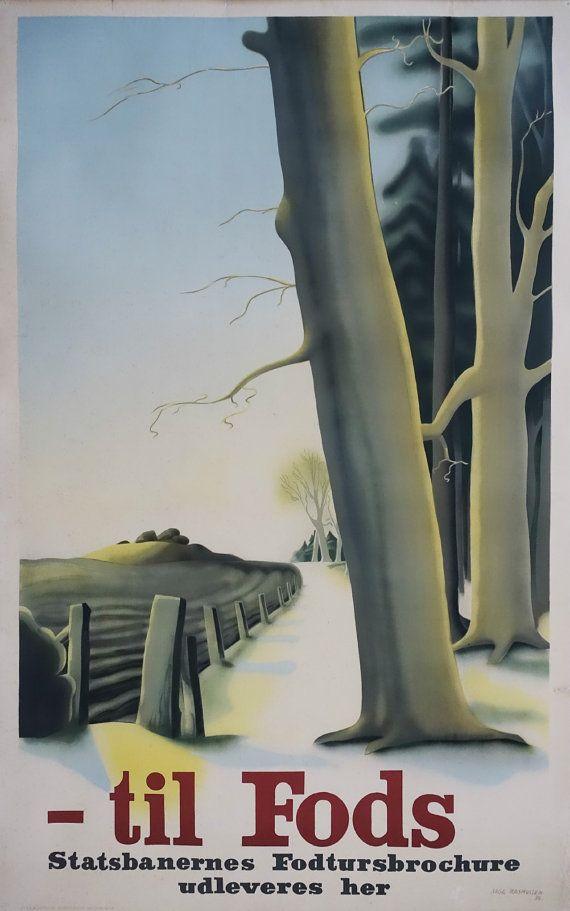 1939 Danish Rails by Aage Rasmussen  Original by OutofCopenhagen