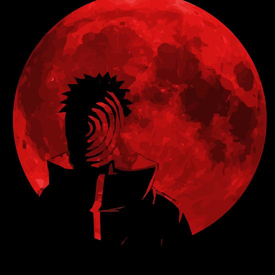 Eye of the Moon Plan ( Uchiha Obito from naruto anime ): Available as Cards, Prints, Posters, T-Shirts & Hoodies, Kids Clothes, Stickers, iPhone & iPod Cases, and iPad Cases