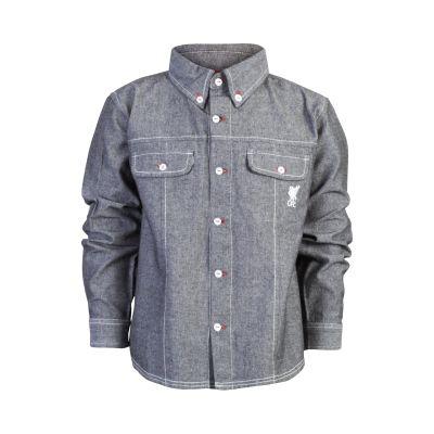 LFC Junior Denim Shirt   Gift Ideas   Liverpool FC Official Store