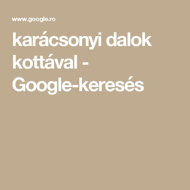 karácsonyi dalok kottával - Google-keresés