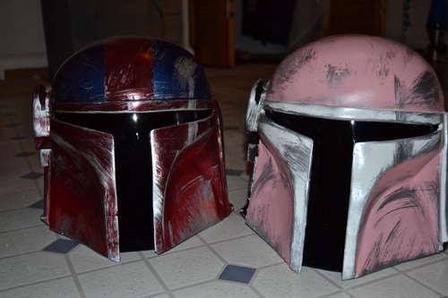 Step by step Homemade Helmets