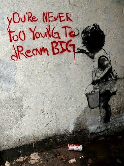 Street art by Banksy #Banksy #StreetArt