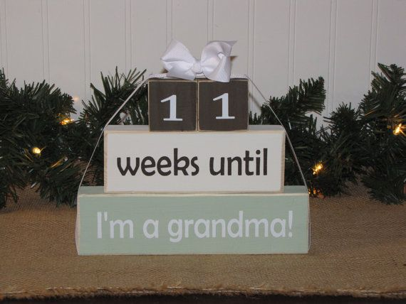 Hey, I found this really awesome Etsy listing at https://www.etsy.com/listing/176885941/pregnancy-countdown-wood-stacking
