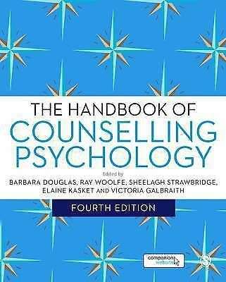 [Was it Sage Publications idea to put Chaos Stars ALL OVER IT?] The Handbook of Counselling Psychology by SAGE Publications Ltd