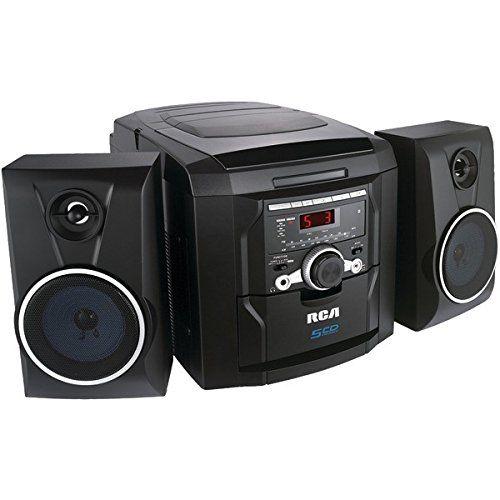RCA RS22162S 5-Disc CD Mini Shelf System